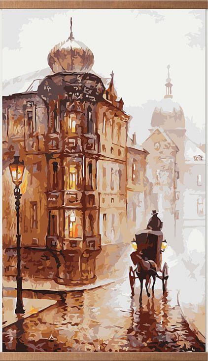 Обогреватель картина Старая Прага 400 Вт