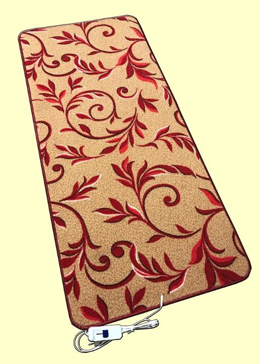Мобильный теплый пол в ковролине модель L1