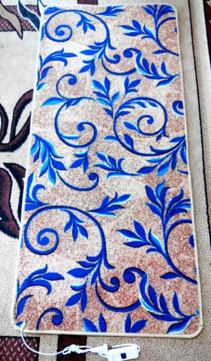 Мобильный теплый пол в ковролине модель В1