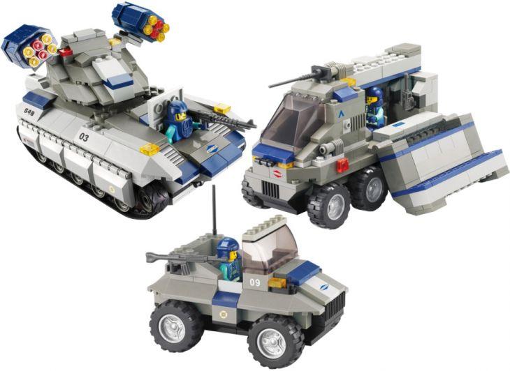 Конструктор 38-0209 Военная техника, Sluban