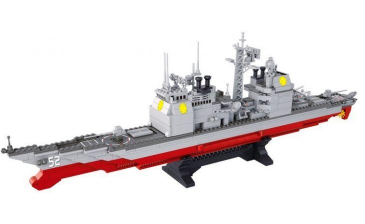 Конструктор 38-0389 Крейсер, Sluban