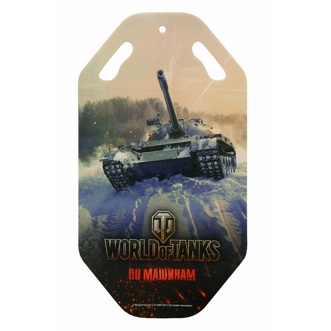 Санки ледянка World of Tanks, 92 см