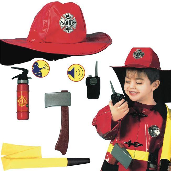 Костюм карнавальный Пожарник