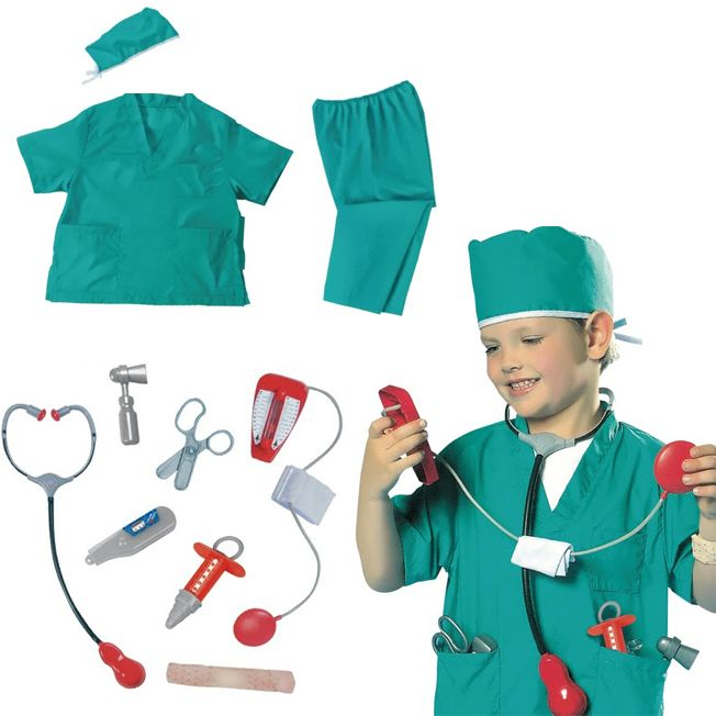 Костюм карнавальный Доктор-хирург