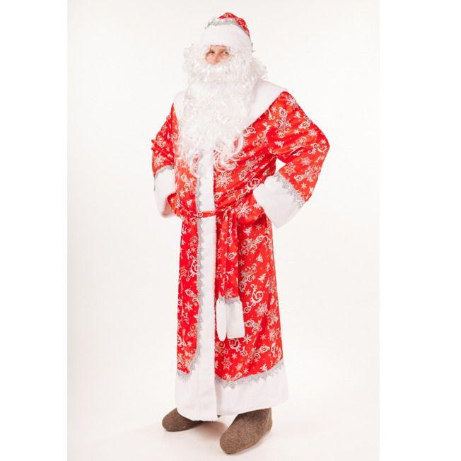 Костюм карнавальный Дед Мороз Морозко р.182-54-56