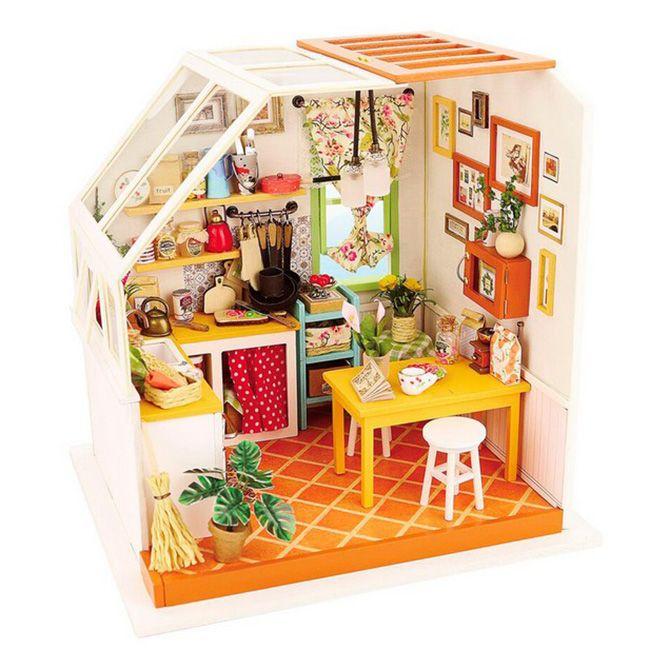 Интерьерный конструктор миниатюра Кухня