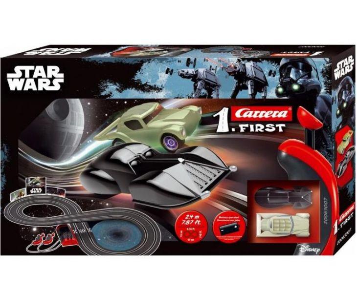 Автотрек Star Wars с 2 машинками