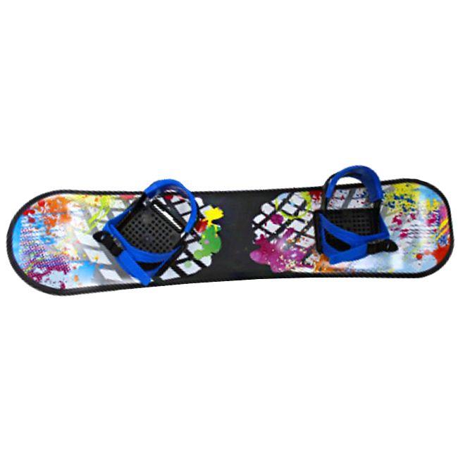 Сноуборд пластик с жесткими креплениями